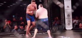 #dziejesiewsporcie: weteran UFC walczył z zawodnikiem z zespołem Downa