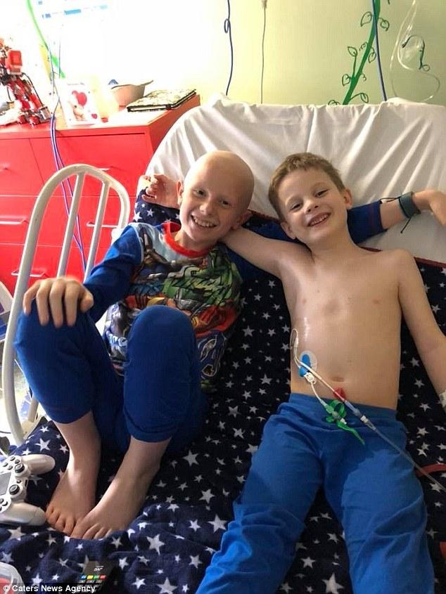 Dwaj bracia walczą z rakiem