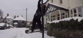 #dziejesiewsporcie: gwiazdor snowboardu szalał na... ulicach miasta!