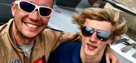 #dziejesiewsporcie: niesamowity lot Dawida Kubackiego. Zakręci ci się w głowie!