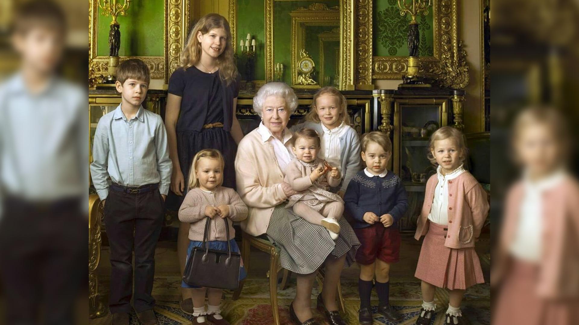 Wnuki i prawnuki królowej Elżbiety II