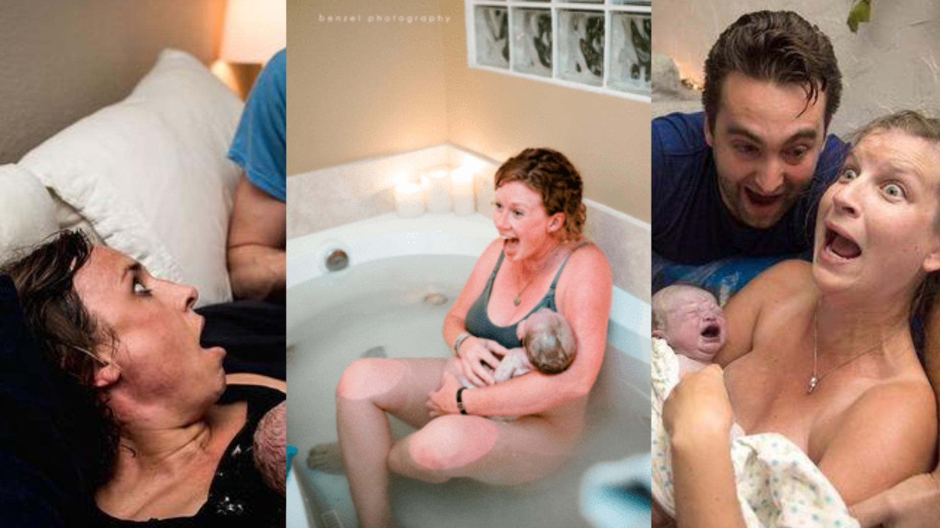 Niezwykłe zdjęcia z porodów