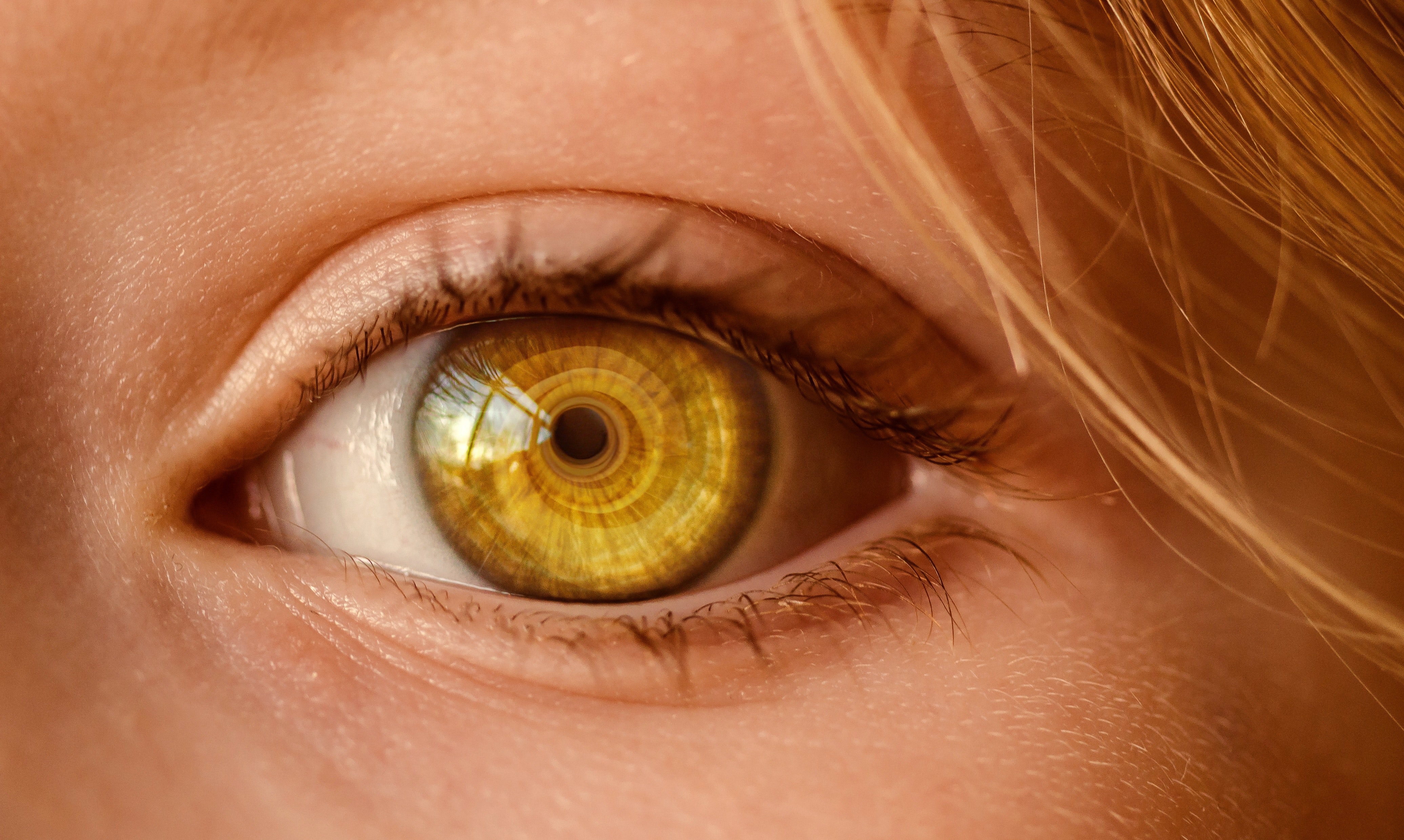 Brązowy kolor oczu ma związek z depresją