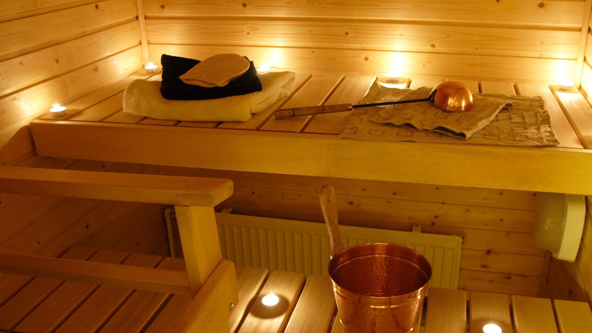 Lecznicza sauna