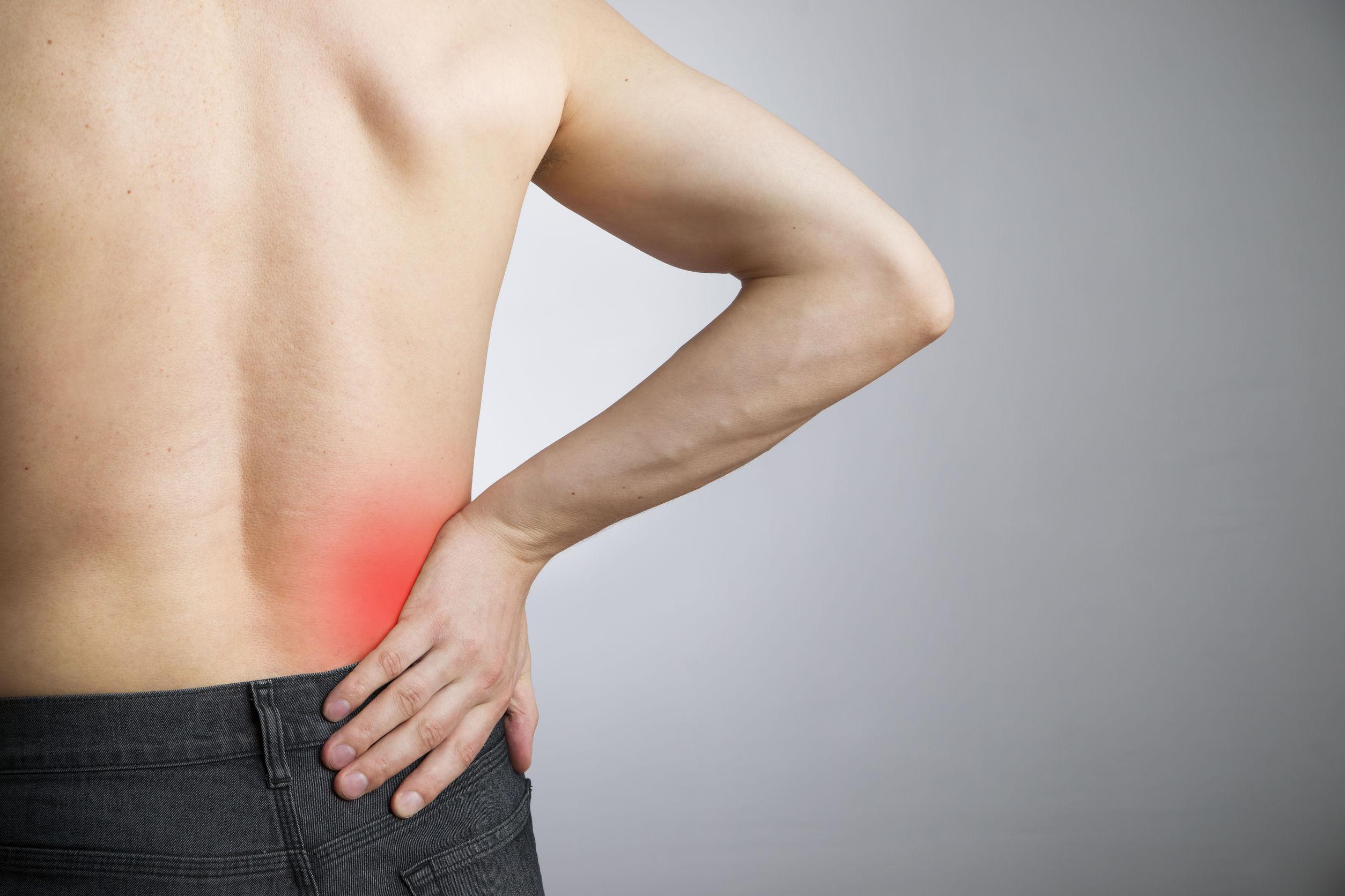Ból pleców. Nieznany objaw odwodnienia