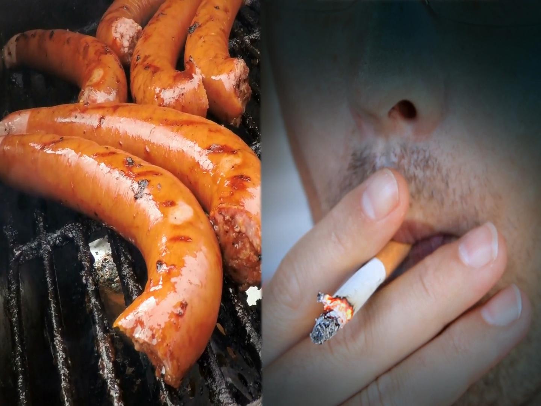 Grillowanie gorsze od palenia papierosów