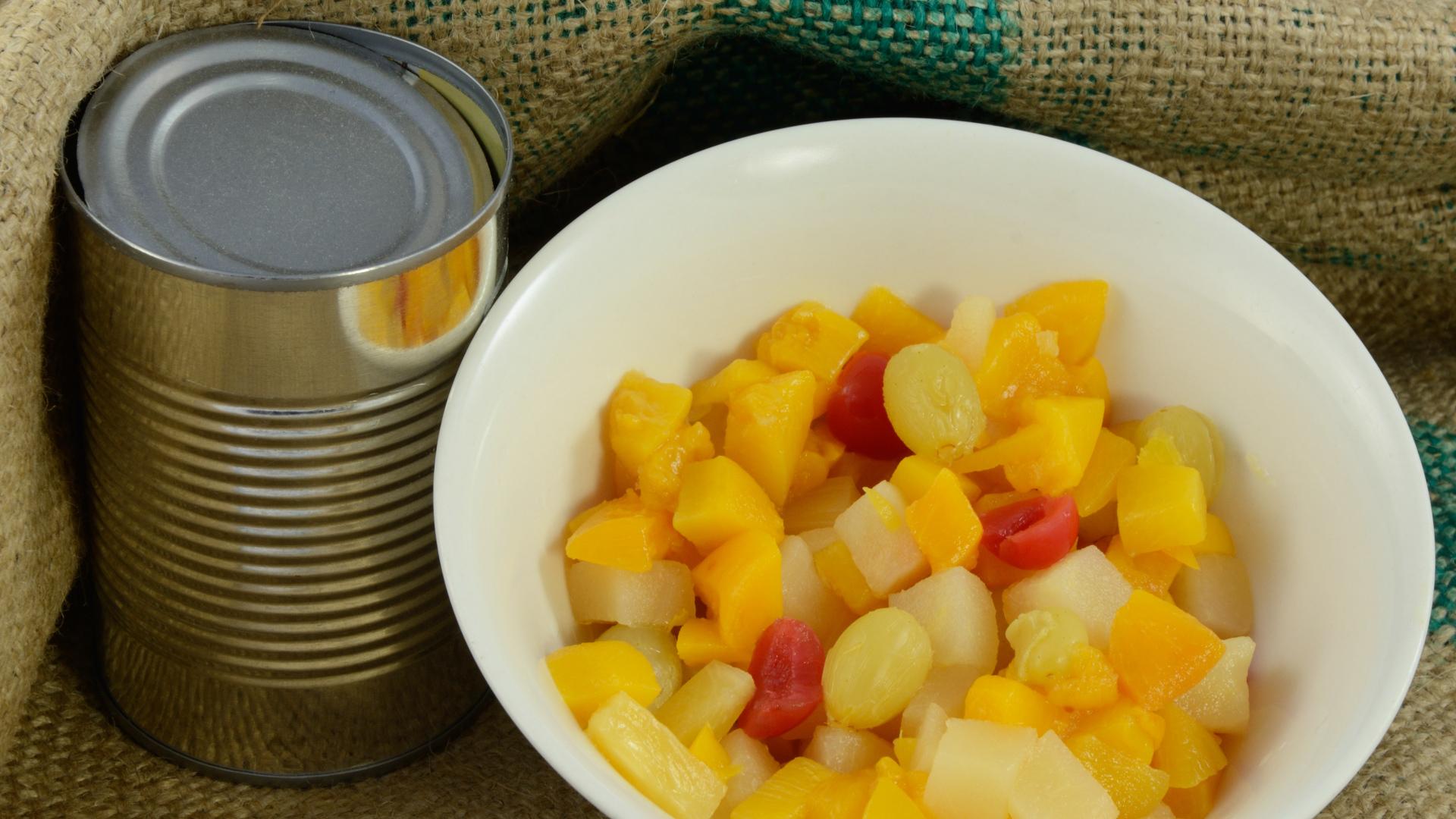 Owoce w syropie szkodliwe dla zdrowia
