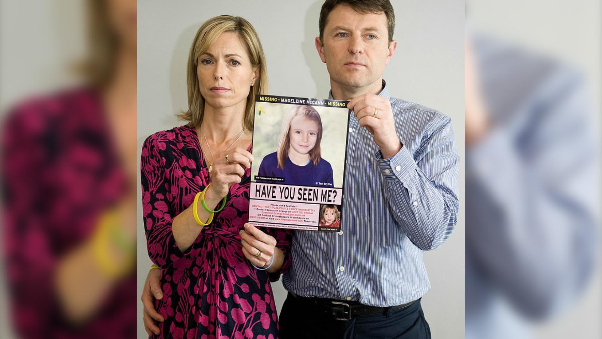 Rodzice oskarżeni o śmierć Madeleine McCann