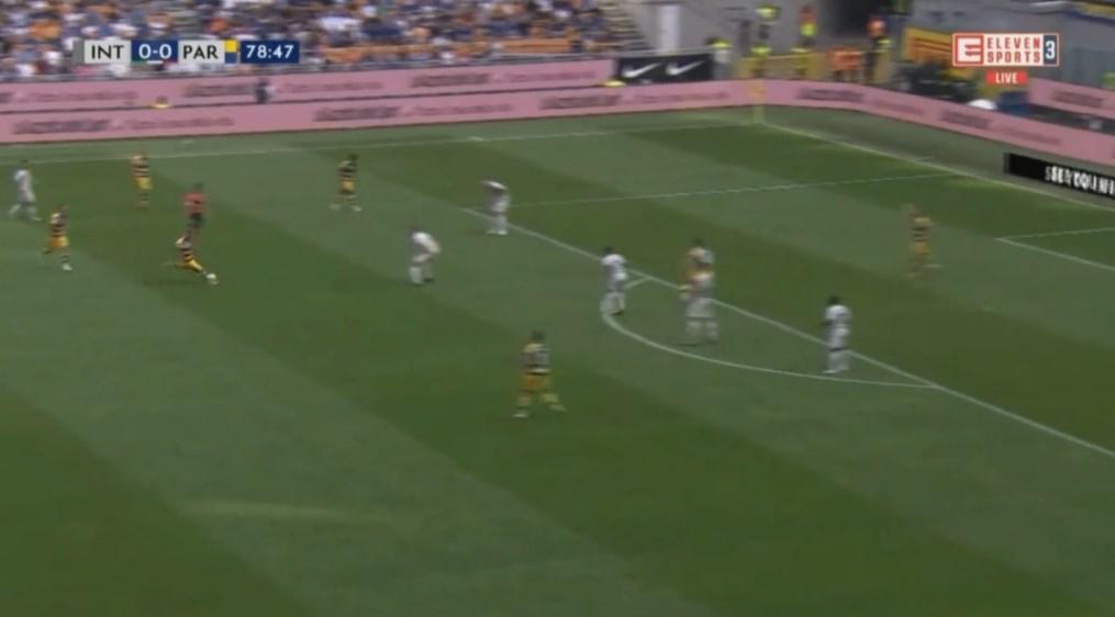 Serie A: Parma wygrała z Interem po kapitalnym golu.