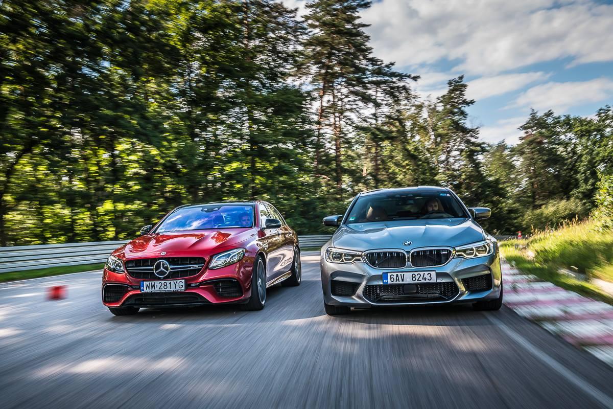 Mercedes-AMG E63 S oraz BMW M5: zapowiedź wielkiego starcia dwóch super-sedanów