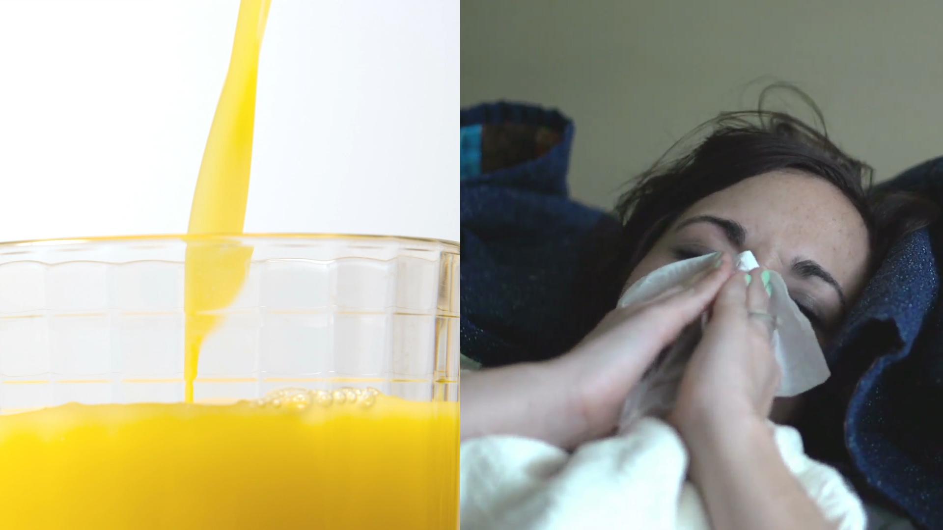 Najlepszy drink na grypę i przeziębienie