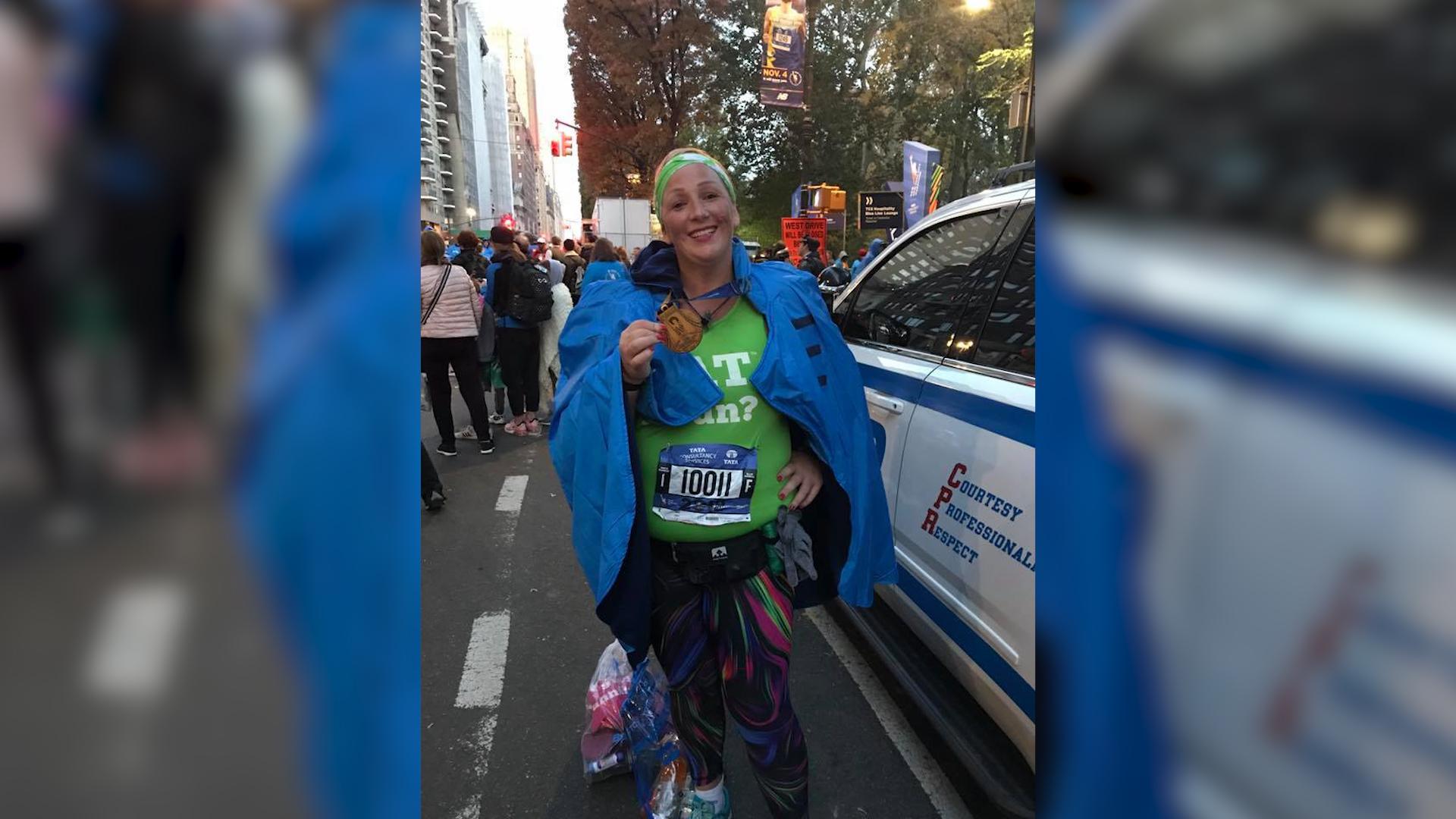 Lekarz powiedział, że jest za gruba, żeby biegać maratony