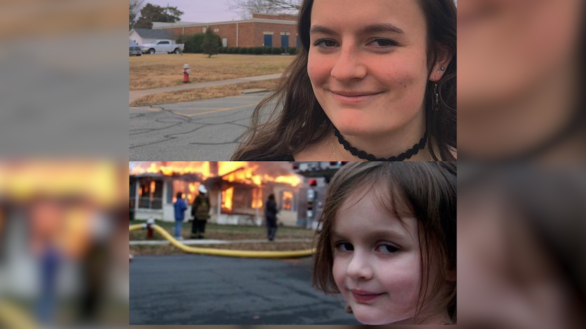 Disaster girl. Historia prawdziwa