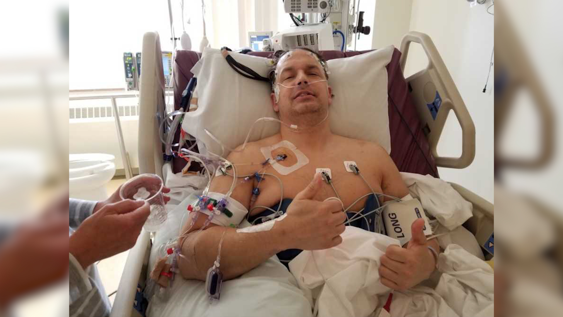 Po wypiciu energetyka trafił do szpitala