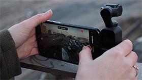DJI Osmo Pocket - możliwości i używanie kamerki z gimbalem