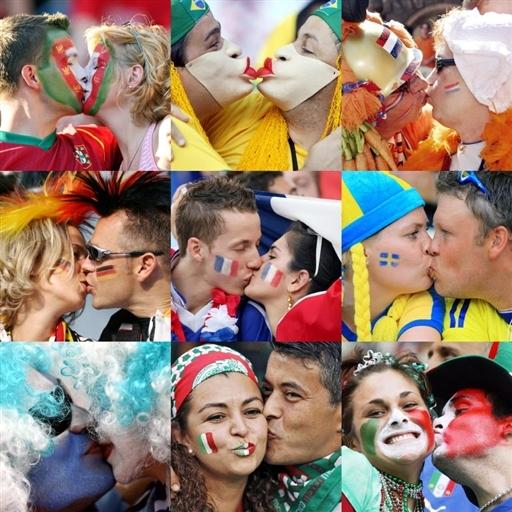 Mundialowe buziaki