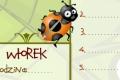 Plan lekcj: owady