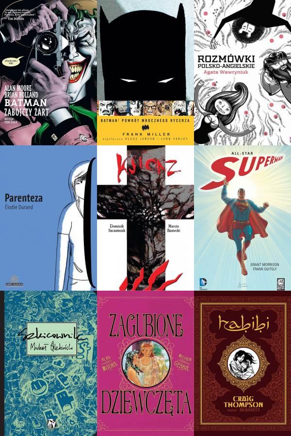 10 najlepszych komiksów 2012 roku