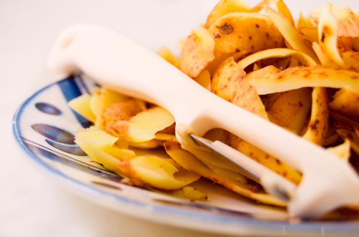 Obierki z ziemniaków