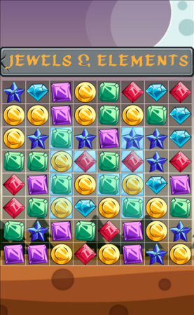 Jewels and Elements: Match 3
