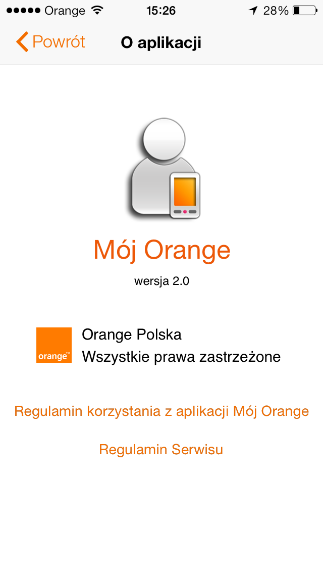 Mój Orange