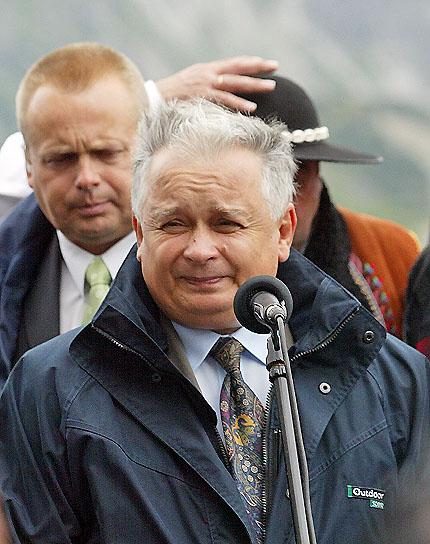 Lech Kaczyński na Podhalu