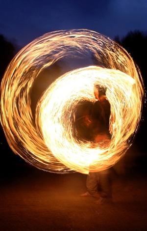 Tradycyjny mauretański taniec w centrum Sofii