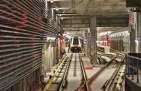 Pr�bna jazda centralnym odcinkiem II linii metra - zobacz film