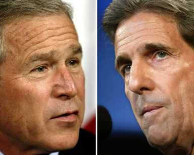 bush vs. kerry essay President bush and sen john kerry, for example, raised a total of nearly half a  billion dollars in private contributions during the presidential primary season.