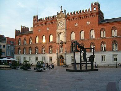 Ratusz w Odense