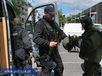 Fa�szywy alarm bombowy na Bielanach w Warszawie
