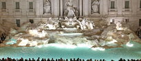 450 euro kary za kąpiel w słynnej fontannie di Trevi