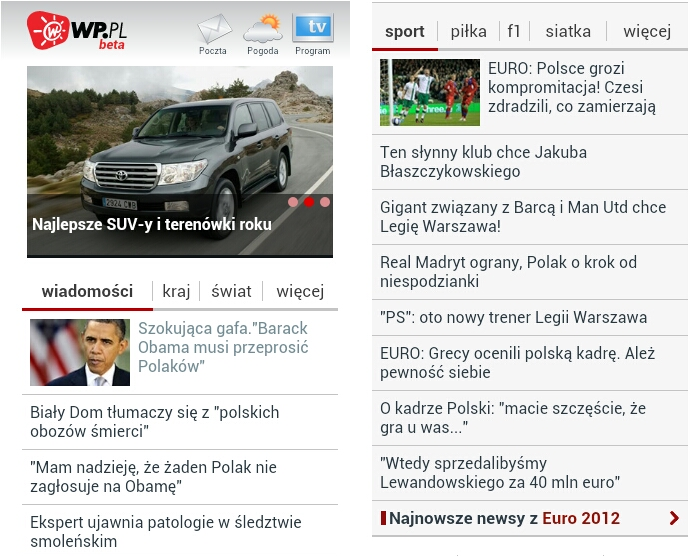 mobilna wp - Mobilna WP.PL
