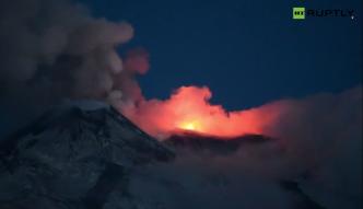 Wulkan Etna wybuchł