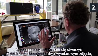 Technologia druku 3D pomaga niewidomym dotknąć wspomnień - dosłownie
