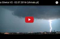 Pi�kne wideo ukazuj�ce burz� nad Gliwicami