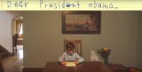 """""""B�d� traktowa� go jak brata"""". Wzruszaj�cy list 6-latka do Baracka Obamy"""