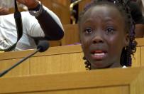 """9-latka z p�aczem m�wi�a o rasizmie w Charlotte. """"To wstyd, �e nasi rodzice s� zabijani"""""""
