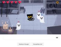 Halloween w Google Doodle