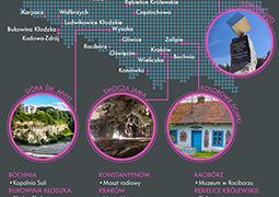 Polskie atrakcje wśród najbardziej nietypowych miejsc na świecie