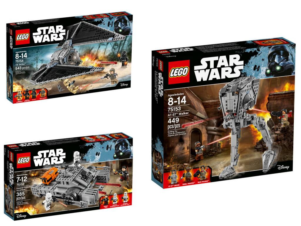 Niech moc lego® Star Wars™ Łotr 1 będzie z wami!