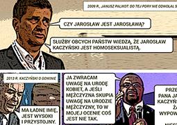 Najpierw insynuują homoseksualizm Jarosława Kaczyńskiego. Potem przepraszają