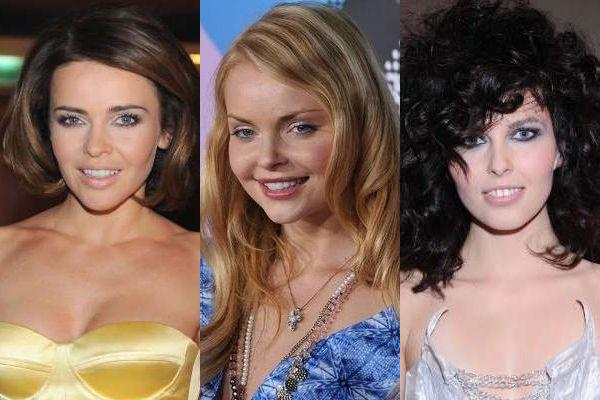 Aktorki, wokalistki, modelki...