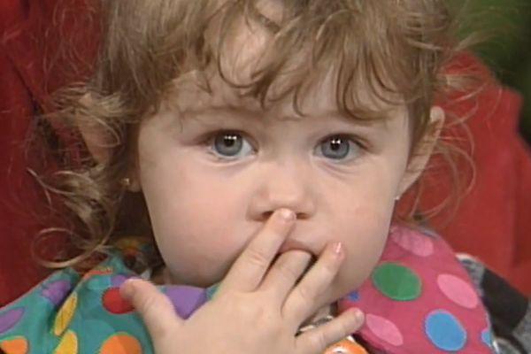 Miała wtedy dwa latka