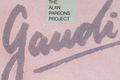 """25lecie wydania albumu """"Gaudi"""" grupy Alan Parsons Project"""