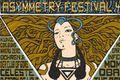 Dzieło Malleusa oficjalnym plakatem Asymmetry Festival 4.0
