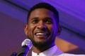 Usher nauczył się alfabetu