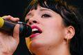 Lily Allen żeńskim Kanye Westem