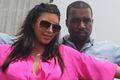 Kim Kardashian i Kanye West pod pomnikiem Jezusa