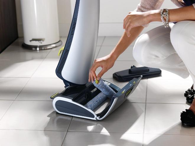 Elektryczny Mop W Domu